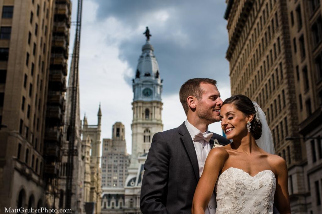 Wedding photos on broad street