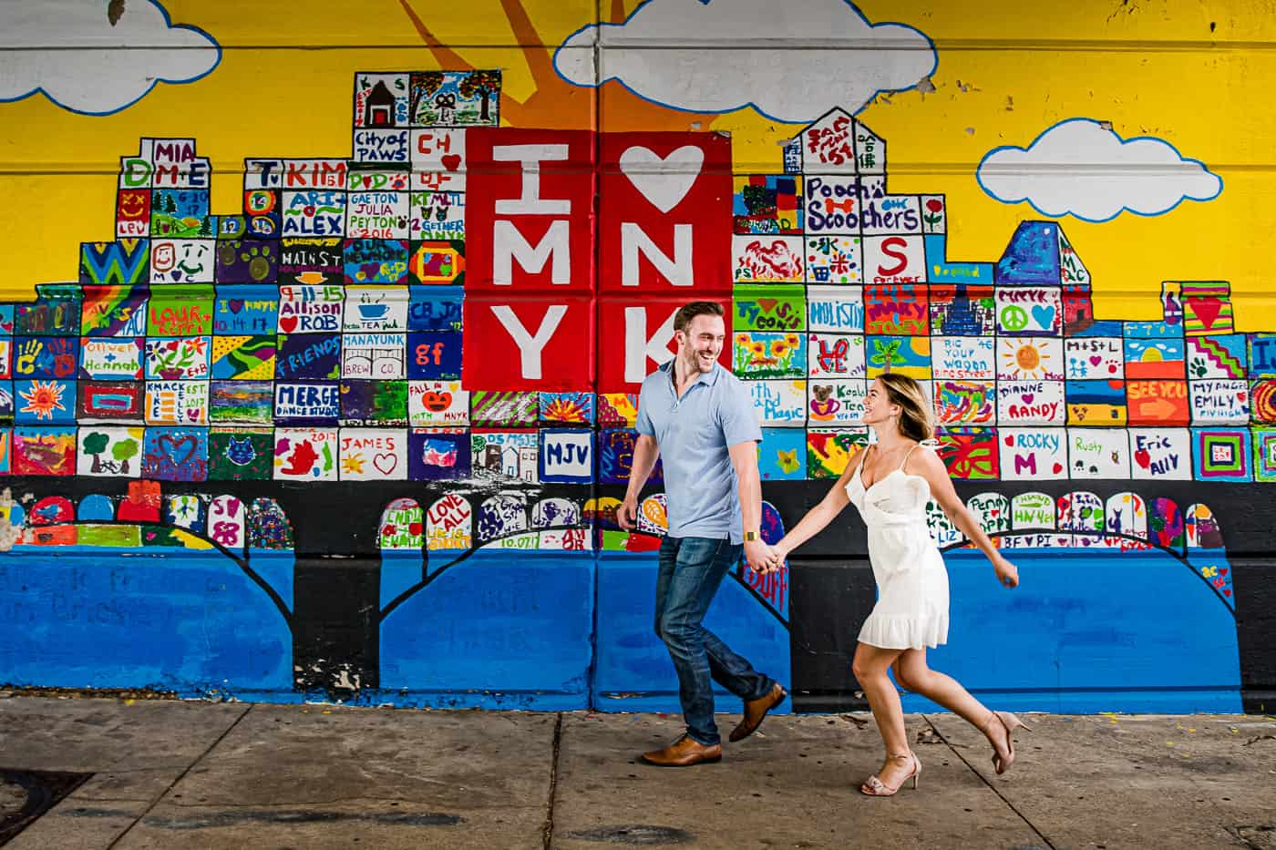 Manayunk Engagement Photos