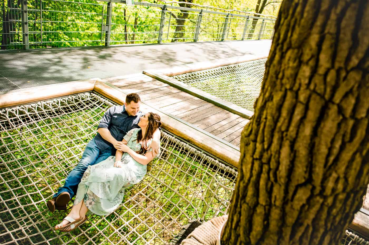 Morris Arboretum Engagement Shoot