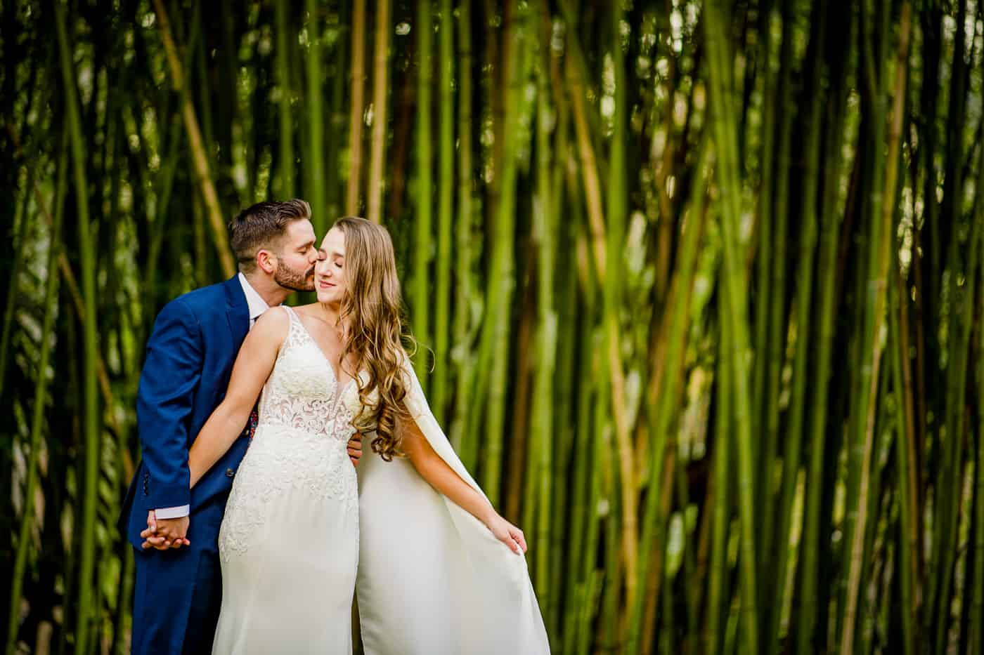 Old Mill bamboo backdrop