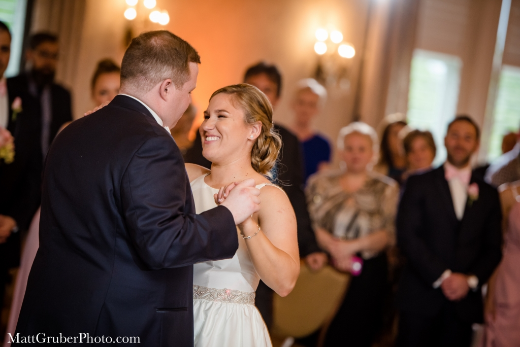 blue bell country club wedding