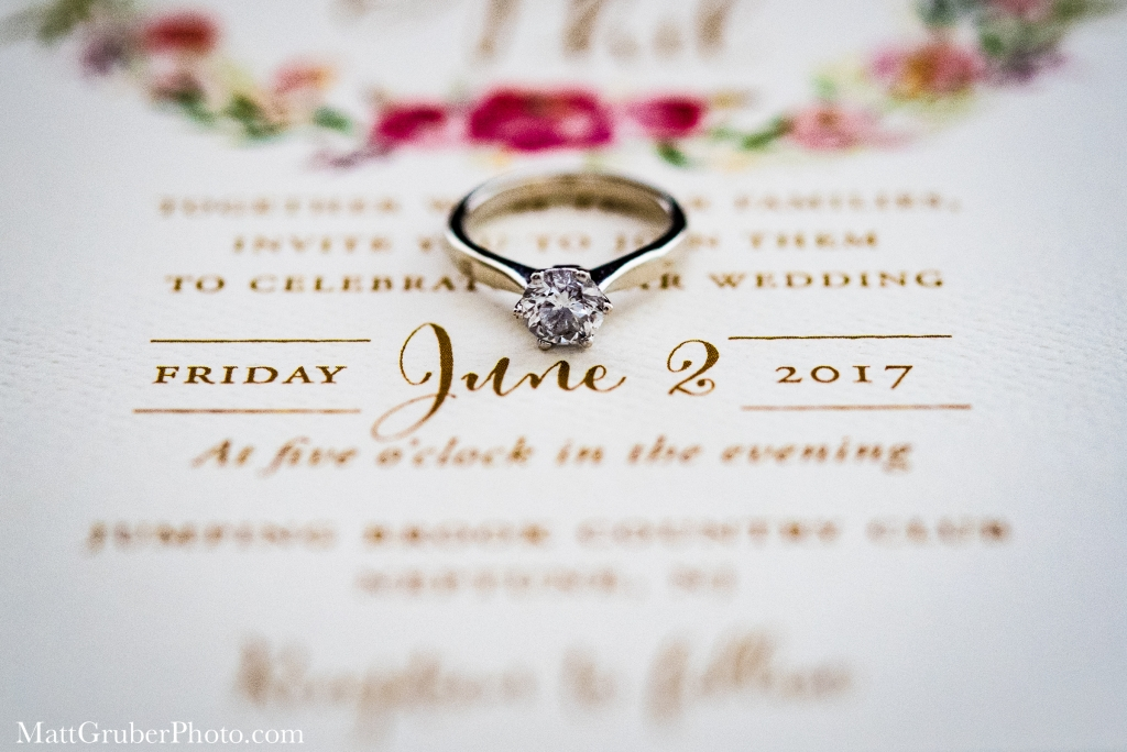 Jumping Brook Golf Club Wedding