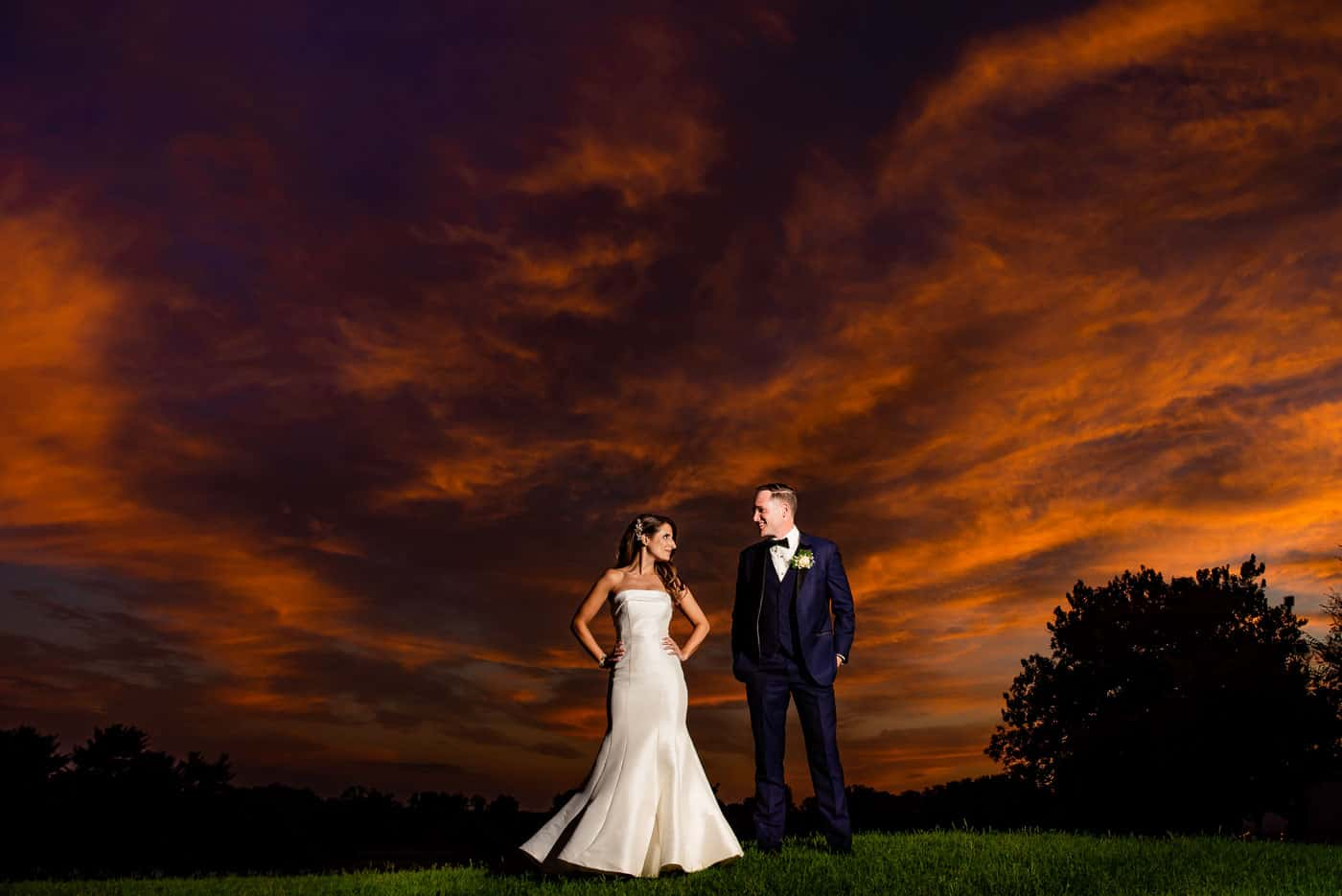 Springfield Country Club Outdoor wedding
