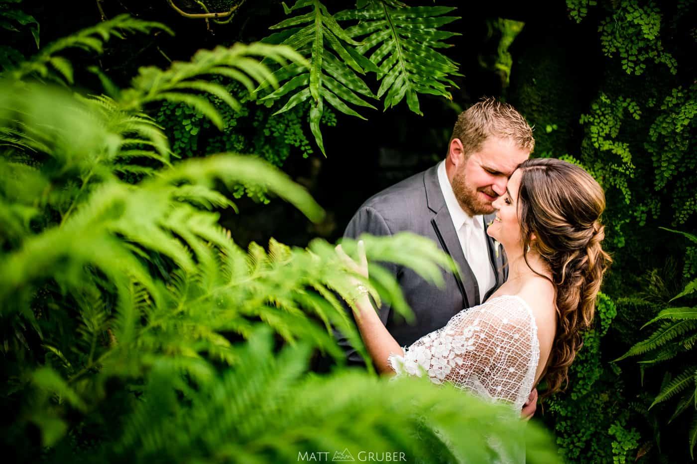 Morris Arboretum Wedding