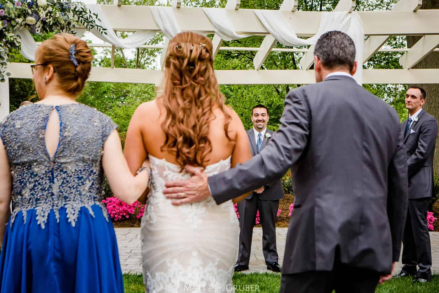 Collingswood Grand Ballroom Wedding Ceremony