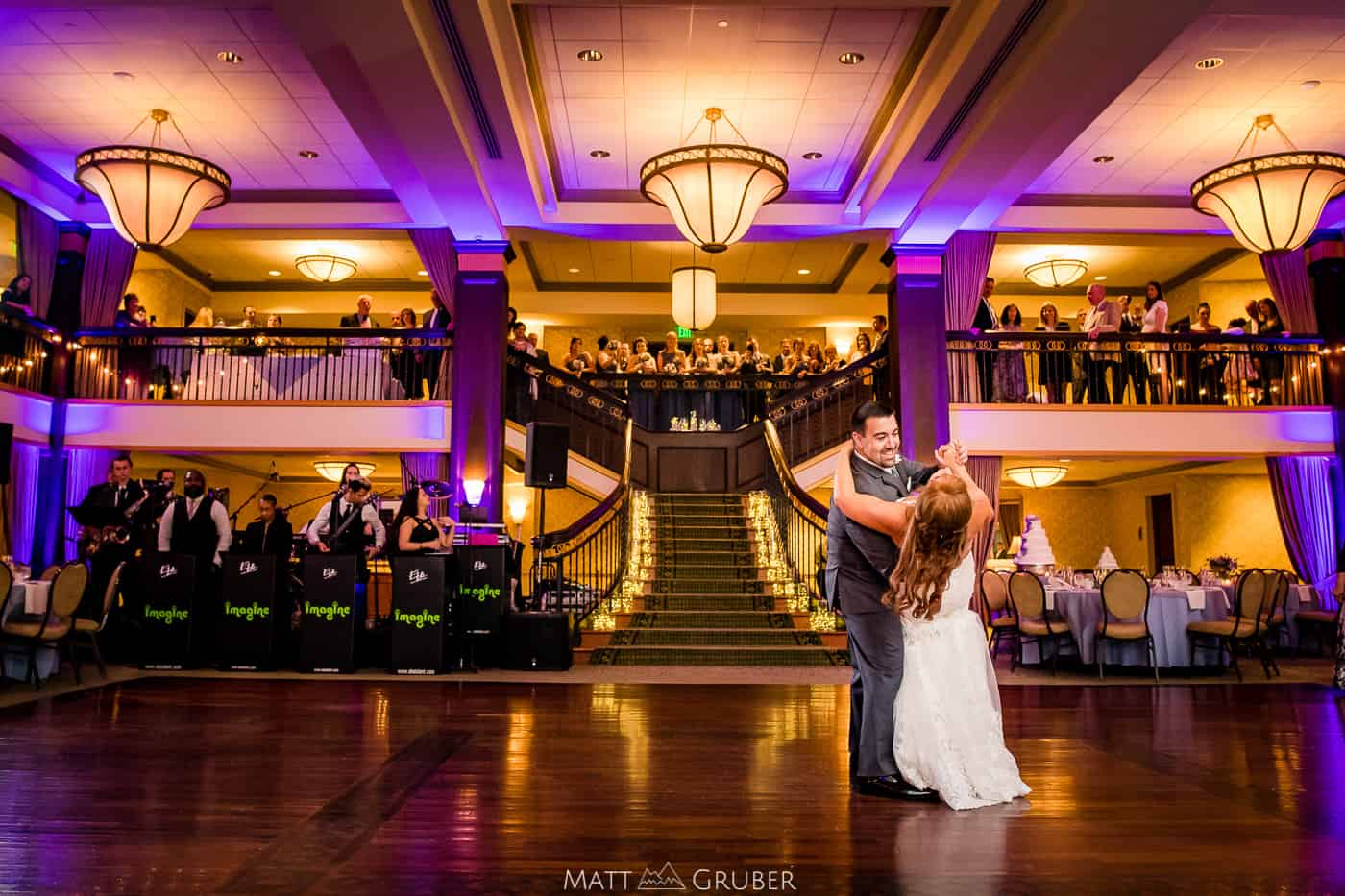 Collingswood Grand Ballroom Wedding First Dance