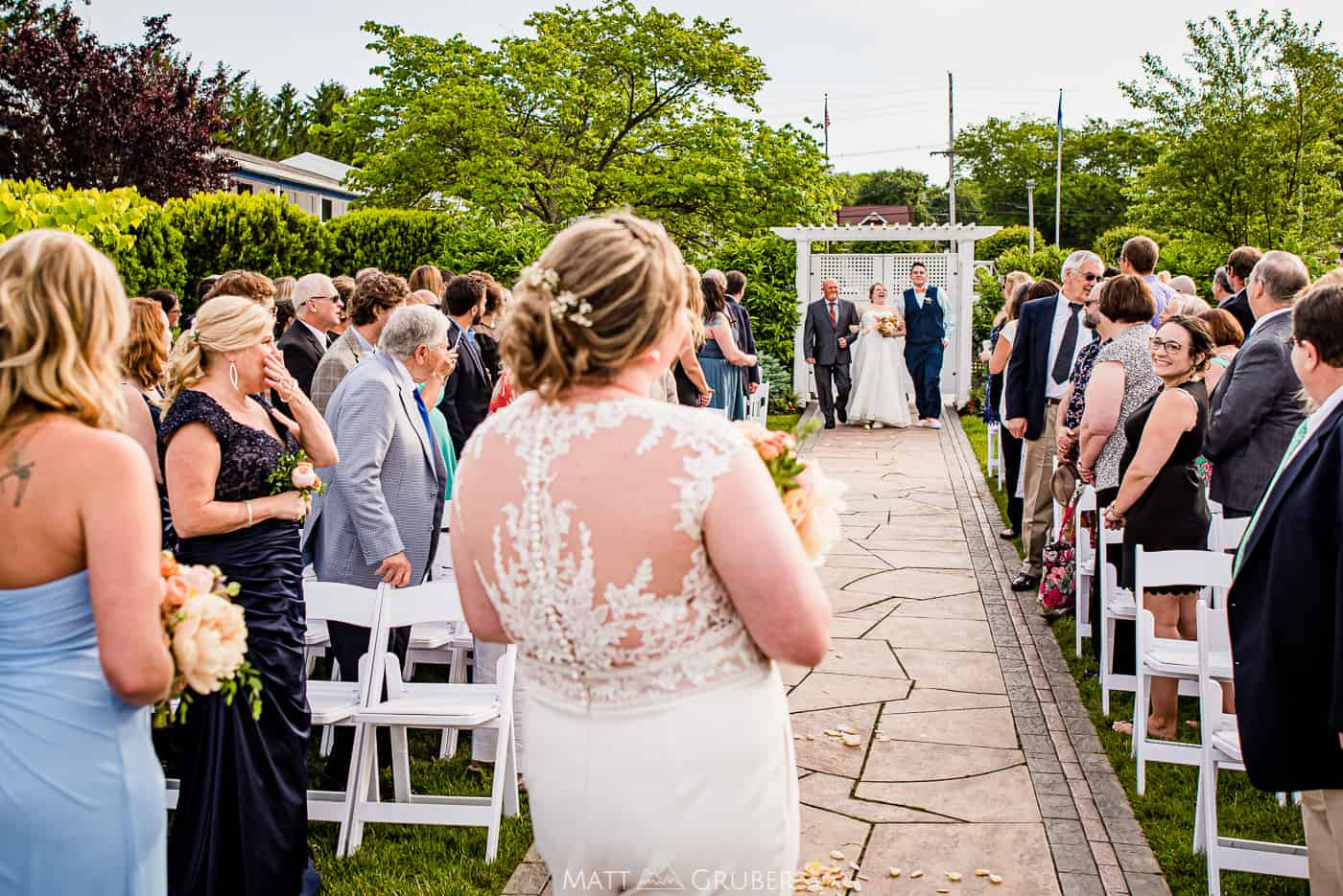 Crystal Point Yacht Club Wedding