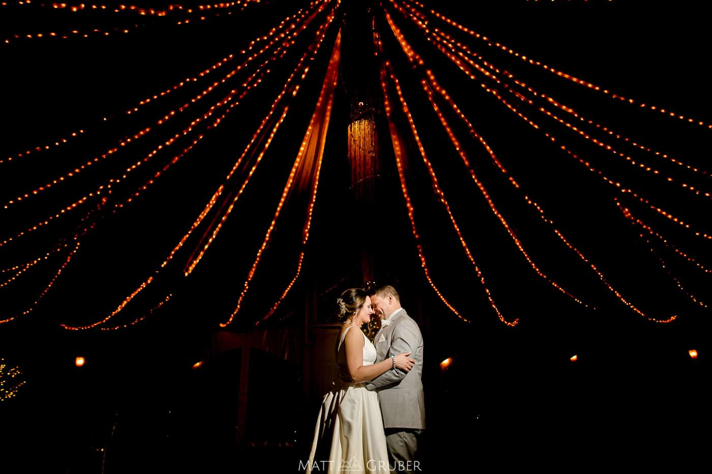 Penn Oaks Golf Club Winter Wedding