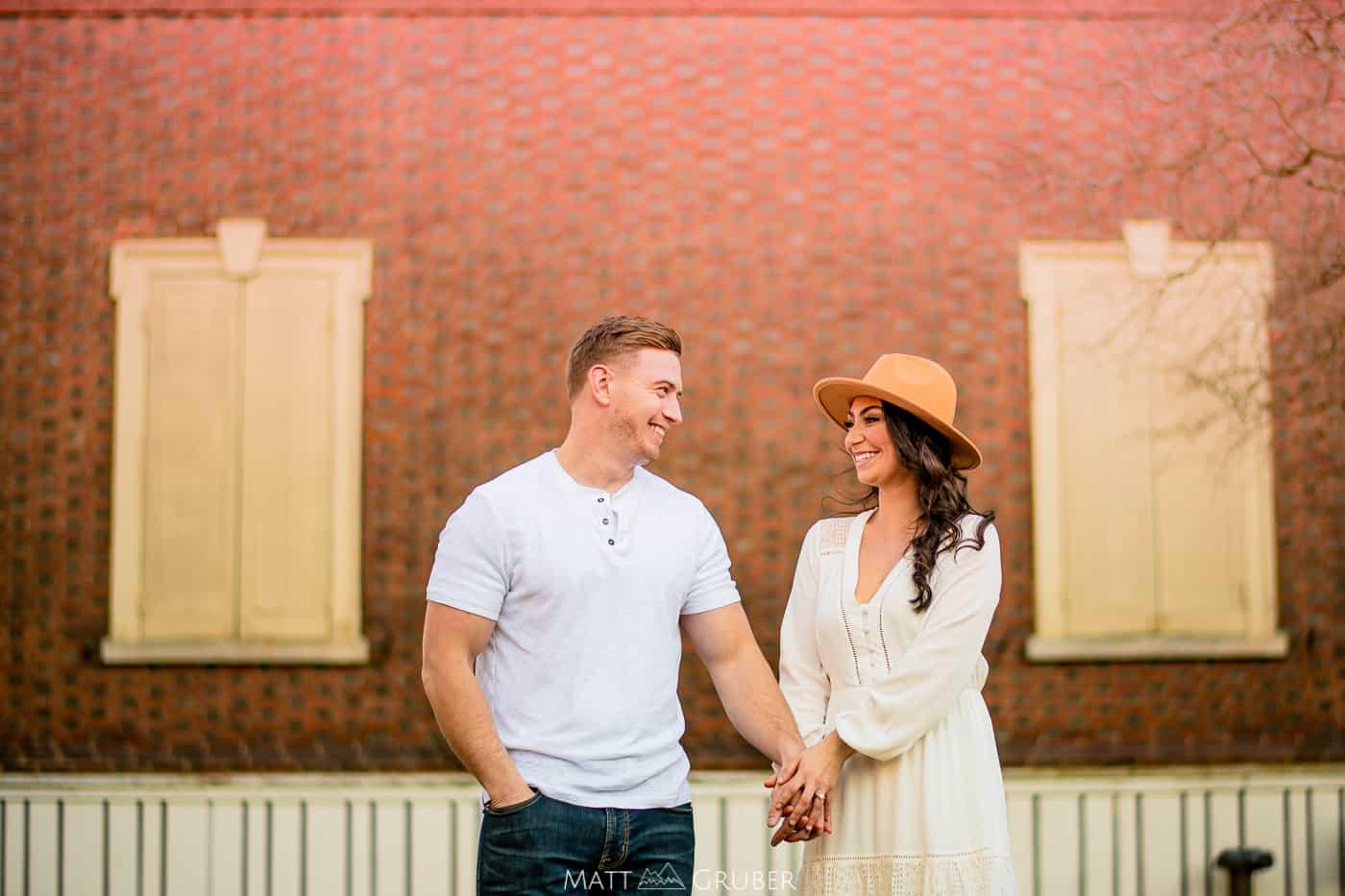 Carpenter's Hall engagement photos