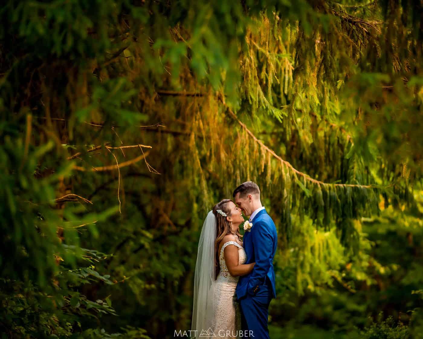 West Chester backyard wedding