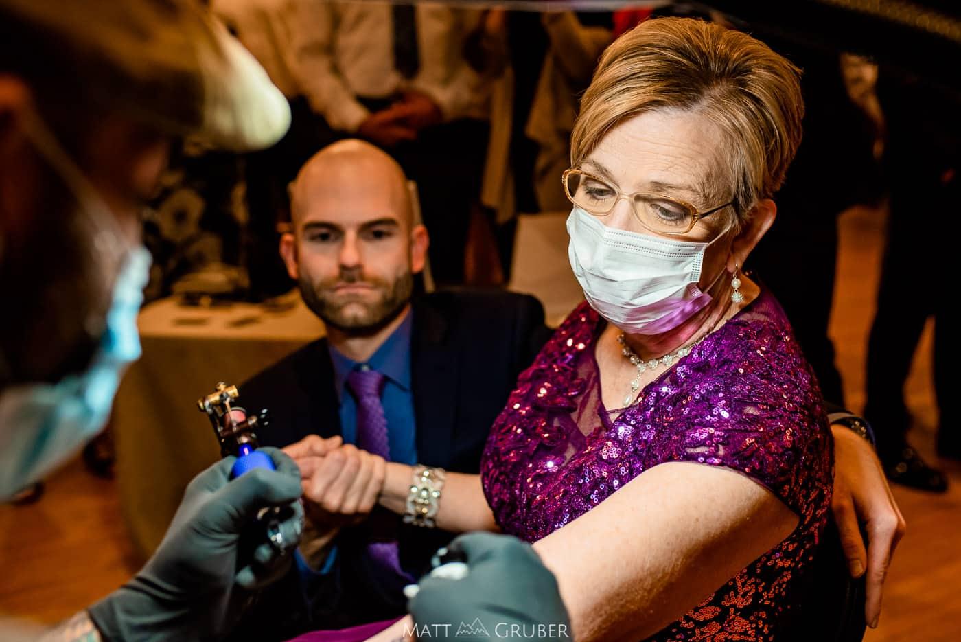 rob fire wedding tattooer